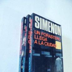 Libros de segunda mano: SIMENON / Nº 1 - 2 - 3 / LUIS DE CARALT - AÑO 1971 - 1ª ED.. Lote 140585100