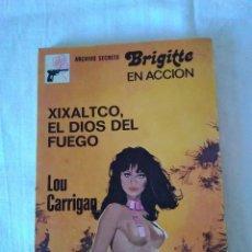 Libros de segunda mano: 23-XIXALTCO EL DIOS DEL FUEGO, LOU CARRIGAN, ARCHIVO SECRETO BRUGUERA. Lote 135321534