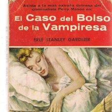 Libros de segunda mano: COLECCIÓN ¨EL BUHO ¨. Nº 5. EL CASO DEL BOLSO DE LA VAMPIRESA. ERLE STANLEY GARDNER. GERPLA. (ST/84). Lote 135515414