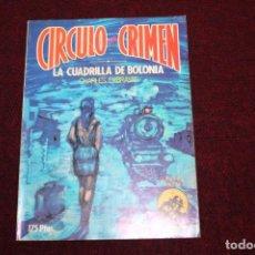 Libros de segunda mano: CIRCULO DEL CRIMEN 5 LIBROS-EDICIONES FORUM. Lote 135615286