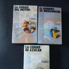 Libros de segunda mano: 3 NOVELAS ( POLICIACO ) DETECTIVE WALKER / LOREN D.STLEMAN / SERIE NEGRA - ED. ARIN 1987 /SIN USAR. Lote 136029962