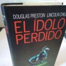 Libros de segunda mano: 128-EL IDOLO PERDIDO, DOUGLAS PRESTON-LINCOLN CHILD, 1996. Lote 136072978