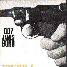 Libros de segunda mano: IAN FLEMING : 007 JAMES BOND - VIURE I DEIXAR MORIR (AYMÀ, 1964) EN CATALÁN. Lote 136135668