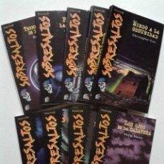 Livros em segunda mão: LOTE DE 9 NUMEROS DE LA COLECCION SOBRESALTOS - ALTEA - TERROR - NUEVOS. Lote 136600094