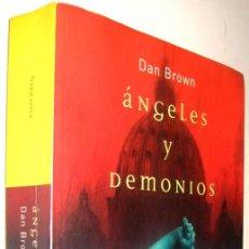 Libros de segunda mano: ANGELES Y DEMONIOS - DAN BROWN *. Lote 137611866