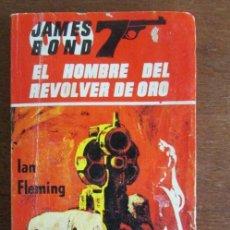 Libros de segunda mano: EL HOMBRE DEL REVÓLVER DE ORO. IAN FLEMING. JAMES BOND. 007. EDICIONES ALBON 1966. Lote 138008842