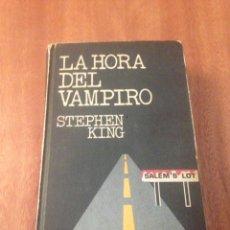 Libros de segunda mano: LA HORA DEL VAMPIRO. Lote 138065545