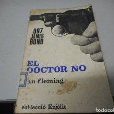 Libros de segunda mano: COL.LECCIÓ ENJÒLIT - EL DOCTOR NO 007 JAMES BOND, 1957. Lote 139501502
