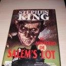 Libros de segunda mano: STEPHEN KING - EL MISTERIO DE SALEM'S LOT - PRIMERA EDICIÓN - PLAZA & JANES - TAPA DURA. Lote 139713286