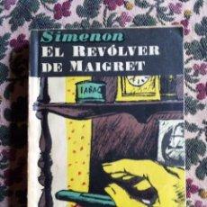 Libros de segunda mano: SIMENON. EL REVÓLVER DE MAIGRET Nº 36 EDITORIAL AYMA AÑO 1953. Lote 139716166