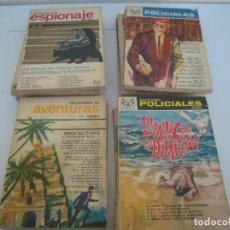 Libros de segunda mano: LOTE DE13 SELECCIONES DE ESPIONAJE, POLICIACO . AVENTURAS ETC DE CODEX. Lote 139727226