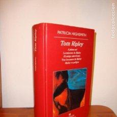 Libros de segunda mano: TOM RIPLEY. EDICIÓN COMPLETA - PATRICIA HIGSMITH - ANAGRAMA, 1275 PÁGS. . Lote 139917034