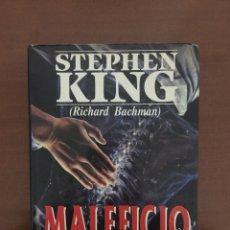 Libros de segunda mano: MALEFICIO - STEPHEN KING - 1 EDICION - PLAZA & JANES - TAPA DURA. Lote 140323076