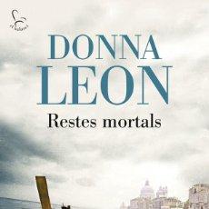 Libros de segunda mano: RESTES MORTALS - DONNA LEON. Lote 140338410