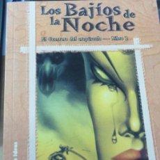 Libros de segunda mano: LOS BAJÍOS DE LA NOCHE EL GUERRERO DEL CREPÚSCULO LIBRO 2 ERIC VAN LUSTBADER 1ª EDICIÓN 2001. Lote 140384818