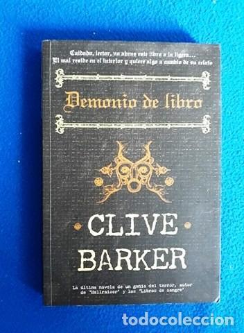 Clive Barker Demonio De Libro Sold Through Direct Sale 140413802