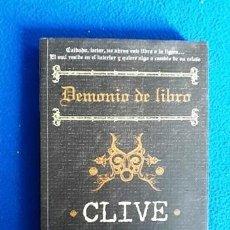 Libros de segunda mano: CLIVE BARKER - DEMONIO DE LIBRO. Lote 140413802