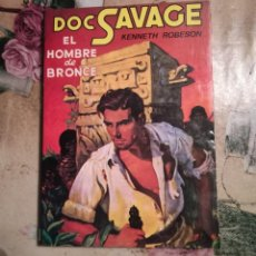 Libros de segunda mano: EL HOMBRE DE BRONCE. DOC SAVAGE Nº 1 - KENNETH ROBESON - 1981. Lote 142178258