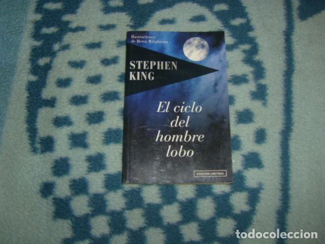 EL CICLO DEL HOMBRE LOBO , STEPHEN KING , EDICION LIMITADA (Libros de segunda mano (posteriores a 1936) - Literatura - Narrativa - Terror, Misterio y Policíaco)