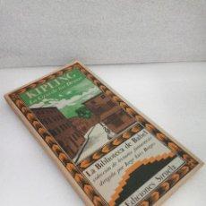 Libros de segunda mano: KIPLING LA CASA DE LOS DESEOS. LA BIBLIOTECA DE BABEL ED SIRUELA 1985 BORGES SIN LEER. Lote 144703790