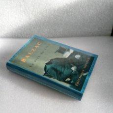 Libros de segunda mano: LA PIEL DE ZAPA. BALZAC EDICIONES SIRUELA EL OJO SIN PARPADO 27 1ª EDICION 1989 SIN LEER. Lote 144827586