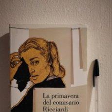 Libros de segunda mano: LIBRO - LA PRIMAVERA DEL COMISARIO RICCIARDI - MISTERIO - ED. LUMEN - MAURIZIO DE GIOVANNI. Lote 145138814