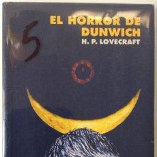 Libros de segunda mano: EL HORROR DE DUNWICH. H P LOVECRAFT. ALIANZA EDITORIAL. . Lote 145242710