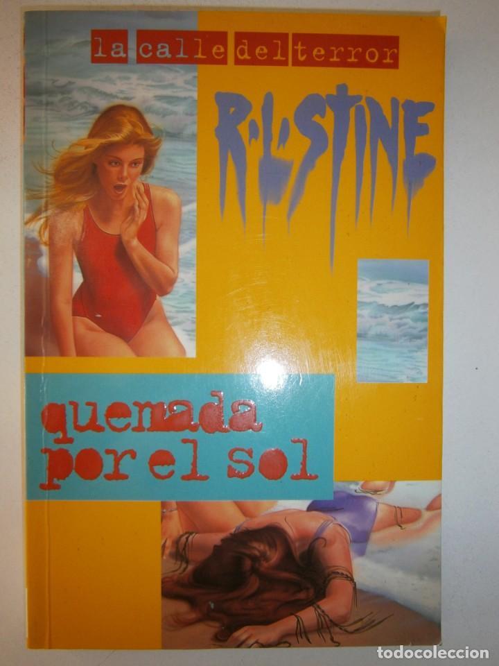 Libros de segunda mano: QUEMADA POR EL SOL R L STINE 1 edicion 1996 LA CALLE DEL TERROR - Foto 2 - 145277202