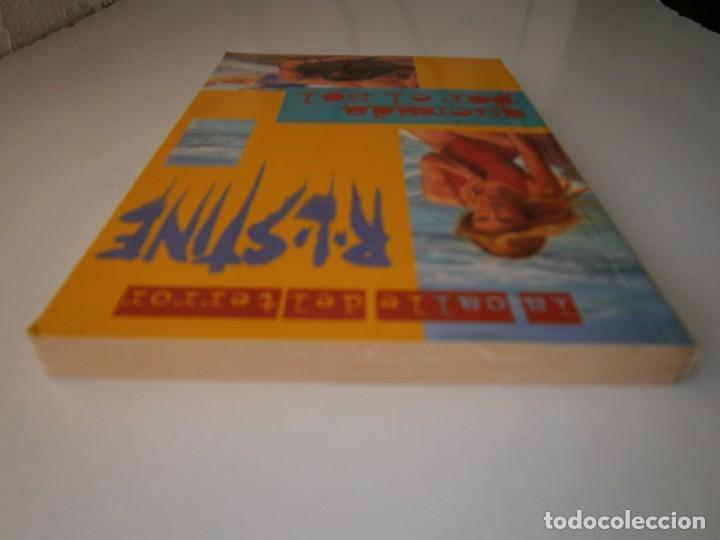 Libros de segunda mano: QUEMADA POR EL SOL R L STINE 1 edicion 1996 LA CALLE DEL TERROR - Foto 7 - 145277202