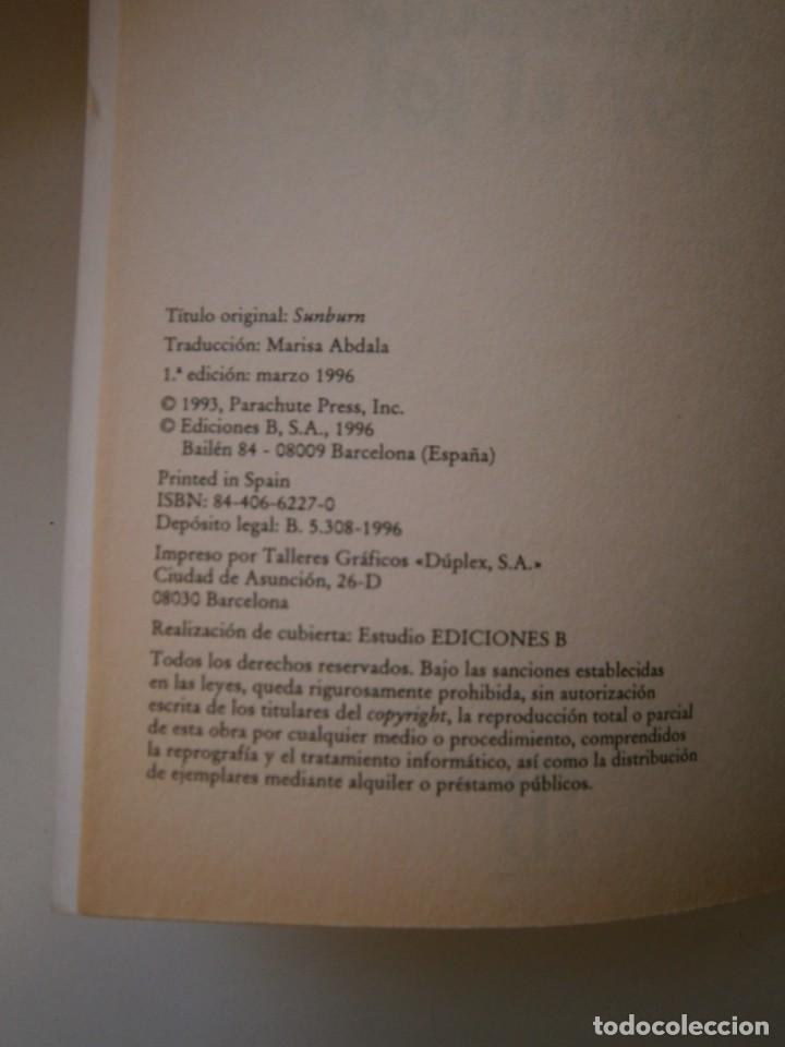 Libros de segunda mano: QUEMADA POR EL SOL R L STINE 1 edicion 1996 LA CALLE DEL TERROR - Foto 9 - 145277202