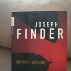 Libros de segunda mano: JOSEPH FINDER - INSTINTO ASESINO - ROCA EDITORIAL 2007. Lote 145839573