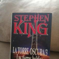 Libros de segunda mano: STEPHEN KING - LA TORRE OSCURA 3 LAS TIERRAS BALDIAS - EDICIONES B 1994. Lote 145950922