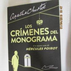 Libros de segunda mano: LOS CRÍMENES DEL MONOGRAMA - SOPHIE HANNAH - ESPASA 2014 - AGATHA CHRISTIE POIROT. Lote 146031050