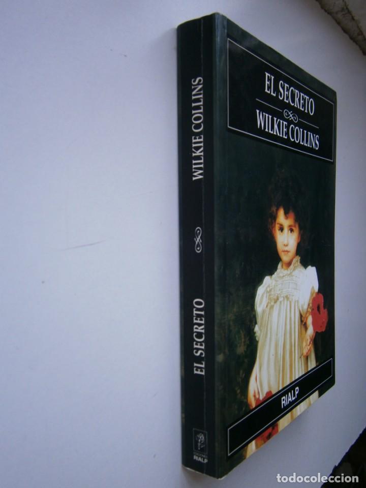Libros de segunda mano: EL SECRETO WILKIE COLLINS Rialp 2001 - Foto 3 - 146270890