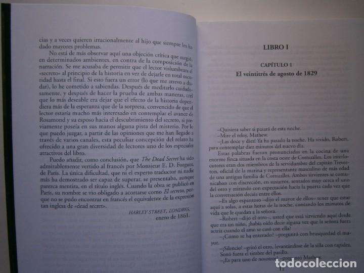 Libros de segunda mano: EL SECRETO WILKIE COLLINS Rialp 2001 - Foto 13 - 146270890