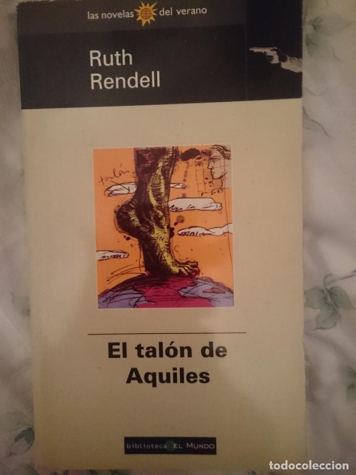 EL TALON DE AQUILES - RUTH RENDELL (Libros de segunda mano (posteriores a 1936) - Literatura - Narrativa - Terror, Misterio y Policíaco)