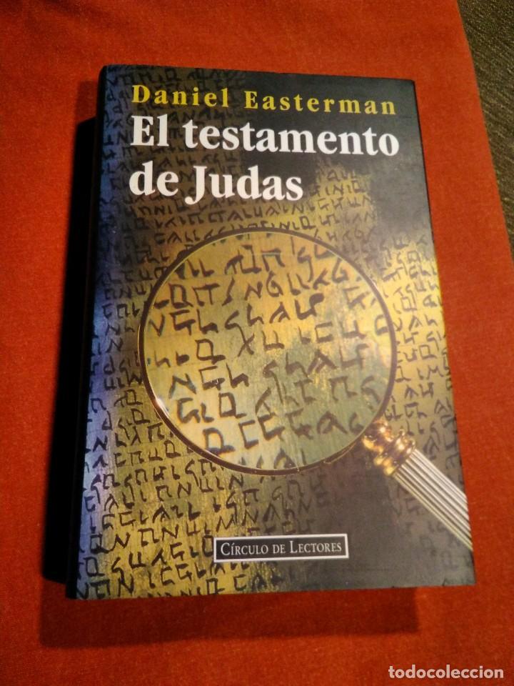 DANIEL _ EL TESTAMENTO DE JUDAS (Libros de segunda mano (posteriores a 1936) - Literatura - Narrativa - Terror, Misterio y Policíaco)