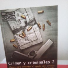 Libros de segunda mano: CRIMEN Y CRIMINALES 2 - FRANCISCO PÉREZ ABELLÁN - NUEVO. Lote 146735274