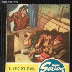 Libros de segunda mano: EL CASO DEL TRANSPORTE NOCTURNO. SEXTON BLAKE. Lote 147097058