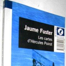 Libros de segunda mano: LES CARTES D´HERCULES POIROT - JAUME FUSTER - EN CATALAN - ENE. Lote 147373394