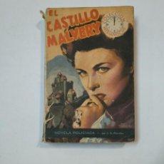 Libros de segunda mano: EL CASTILLO VALVERY. COLECCION MEDIANOCHE. J.S. FLETEHER. NOVELA POLICIACA. TDK359. Lote 147501594