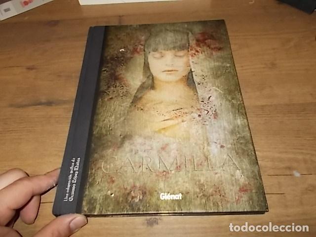 Libros de segunda mano: CARMILLA. UNA ADAPTACIÓN GRÁFICA DE GUSTAVO LÓPEZ MAÑAS. GLÉNAT. 1ª EDICIÓN 2008. VER FOTOS. - Foto 2 - 147575994