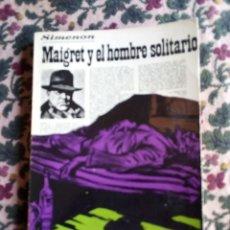Libros de segunda mano: SIMENON: 7 NOVELAS DE BOLSILLO. EDITORIAL LUIS DE CARALT. (VER FOTOS PARA TÍTULOS). Lote 147683554