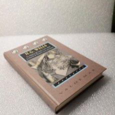 Libros de segunda mano: H. G. WELLS LA MAQUINA DEL TIEMPO OTROS RELATOS LA HISTORIA DE PLATTNER OTRAS NARRACIONES VALDEMAR. Lote 147683630