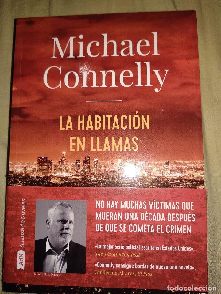 MICHEL CONNOLY LA HABITACION EN LLAMAS NUEVO TAMAÑO GRANDE ADN ALIANZA EDITORES THRILLER MISTERIO (Libros de segunda mano (posteriores a 1936) - Literatura - Narrativa - Terror, Misterio y Policíaco)
