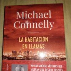 Libros de segunda mano: MICHEL CONNOLY LA HABITACION EN LLAMAS NUEVO TAMAÑO GRANDE ADN ALIANZA EDITORES THRILLER MISTERIO. Lote 147717690