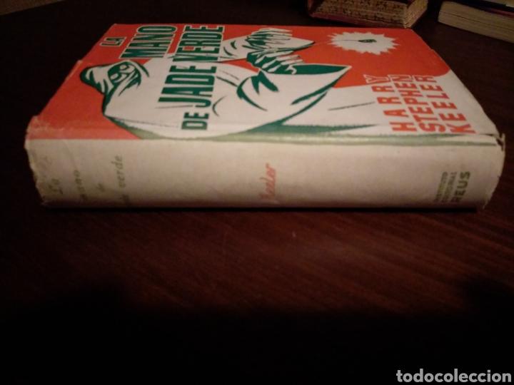 Libros de segunda mano: La mano de jade verde. Harry Stephen Keeler - Foto 2 - 147781208