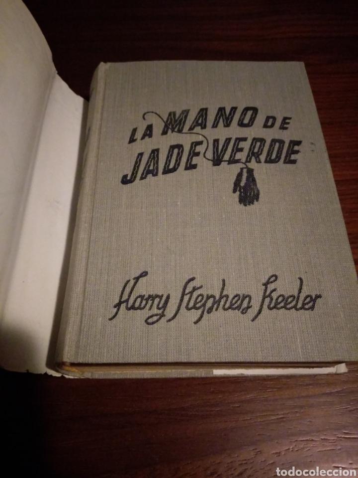 Libros de segunda mano: La mano de jade verde. Harry Stephen Keeler - Foto 3 - 147781208