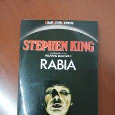 Libros de segunda mano: RABIA DE STEPHEN KING ED MARTÍNEZ ROCA. Lote 147783146