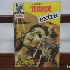 Libros de segunda mano: SELECCION TERROR EXTRA Nº 21: LA VISITA DE LA MUERTE; RONALD MORTIMER. BOLSILIBROS BRUGUERA . Lote 147859398